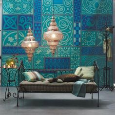 Beautiful Moroccan lamps