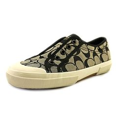 Coach Womens Korrin Sneaker BlackWhite 7 * Want additional info? Click on the affiliate link Amazon.com on image.