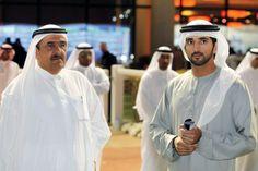 Hamdan RSM and Hamdan MRM, Horse race at Meydan (23/02/2012) Photo: Imran Khalid Al Bayan