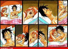 Luffy x Nami - One Piece