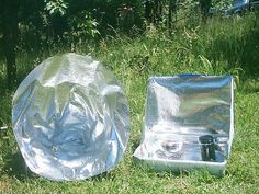 Survival Food, Survival Kits, Camping Survival, Camping Tips, Solar Oven Diy, Solar Cooker, Oven Cooker, Emergency Preparation, Green Technology