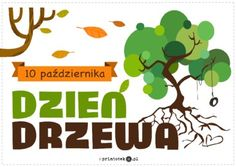 Dzień Drzewa - Printoteka.pl Teacher Inspiration, Art School, Diy And Crafts, Kindergarten, Techno, Humor, Education, Children, Matki