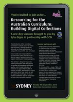 Resourcing for the Australian Curriculum