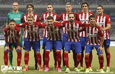 El Atlético pega duro