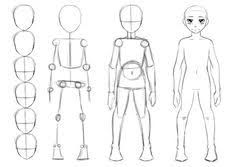Image Result For Tutorial Draw Children Drawing Anime Bodies Body Drawing Body Sketches