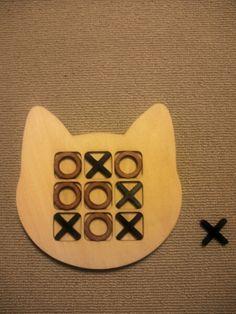 Interior Goods ハンドメイド ネコ型 ×ゲーム 猫グッズナチュラル インテリア 雑貨 Handmade ¥500yen 〆05月29日