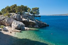 Liskamen Beach, Brela, Dalmatian Coast, Croatia | Flickr - Photo Sharing!