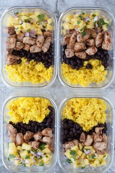 7. Jerk Chicken Meal-Prep Bowls #greatist http://greatist.com/eat/chicken-breast-recipes-you-can-meal-prep