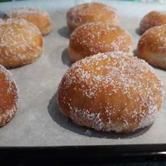 Gluten Free Doughnuts, Gluten Free Baking, Bomboloni, Camilla, Good Food, Sweets, Bread, Vegan, Breakfast
