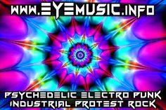 EYE Alternative Protest Music Band - Psychedelic Electro Punk Cyber Synth Pop Industrial Rock Bands Songs Artists Nouveau foncé noir groupes artistes de la le musique danse électronique Industriel Industrielle électro punk rock Industrial French français bande groupe