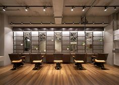 Primula hair salon by Inly Design, Naruo - Japan
