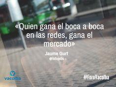 @JaumeGurt en #ForoVacolba @InfoJobs