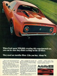 1969 Ford Mach II Concept Car