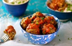 Discover how delicious and hearty vegan meatballs can taste. Made with lentils, walnuts, and mushrooms and smothered in tomato sauce.