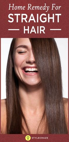 We all wish for long, straight, and healthy hair, don't we? But not all of us are blessed with naturally straight hair.