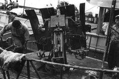 U-лодка Архив - U-505 - Инспекционная группа Фотография