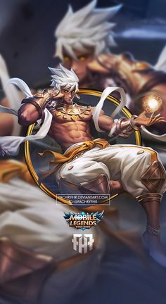 Wallpaper Phone Vale Windtalker (Early) by FachriFHR on DeviantArt Wallpaper Hp, Mobile Legend Wallpaper, Comic Character, Game Character, Fantasy Characters, Anime Characters, Bruno Mobile Legends, Alucard Mobile Legends, Moba Legends