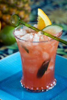 Planters Punch = the most refreshing summer cocktail you'll ever have