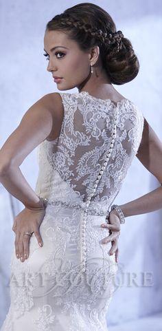 Style AC429 Artcouturebri Wedding Dress Bridal ArtCouture