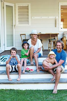 After all it's all about family.... Byron Bay beach house renovation gallery 12 of 16 - Homelife