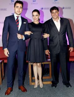 Imran Khan launched United Nations' Bollywood music video starring Celina Jaitley titled 'The Welcome'. Celina promotes UN's 'Free & Equal' campaign for the LGBT community. Also seen, Cyrus Broacha. #Style #Bollywood #Fashion #Beauty