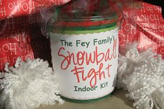 I've been looking all over on how to make those snowballs and I finally found it-yay!