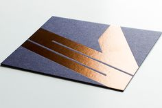 30 Ultra-Creative Business Cards For A Killer First Impression #refinery29  http://www.refinery29.com/cool-los-angeles-business-cards#slide-1  With a shiny copper logo and felt-like background, interior designer Vanessa Schreiber's cards master the mixed material look — and she has the design team at Iron Curtain Press to thank for it.