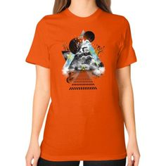 Parallel Universe Unisex T-Shirt (on woman)
