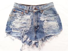 Electra short studded cut off shorts by Omeneye on Etsy, $89.00