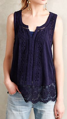 ladder lace tank  http://rstyle.me/n/mjw7spdpe