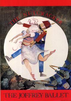 Nutcracker - the Joffrey Ballet Poster :: PicassoMio