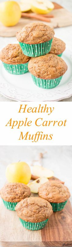 These moist, soft and fluffy muffins are made with whole wheat flour, coconut oil and sweetened with maple syrup. They are absolutely delicious and healthy too! (Video Recipe)