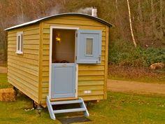 The Hideaway - Shepherd Huts in Norfolk from The English Shepherds Hut Co.