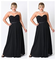 Find a Cheap Black Plus Size Prom Dresses Elegant Sweetheart Dinner Dresses Long Empire Party Dress Simple Chiffon Prom Gowns Online Shop For U !