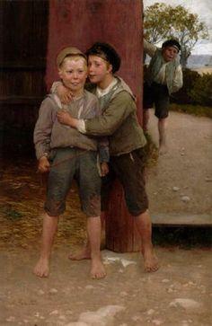 """A Trust"" -- by August Malmström (Swedish, 1829–1901)"