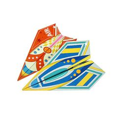 さんかくひこうき - 折り紙 - アートキヤノン クリエイティブパーク