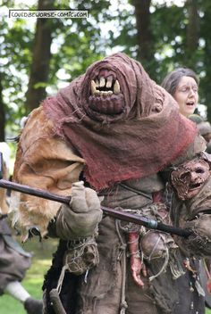 Larp Troll monster Costume, couldbeworse-comic.com,  Fantasy mythology                                                                                                                                                                                 More