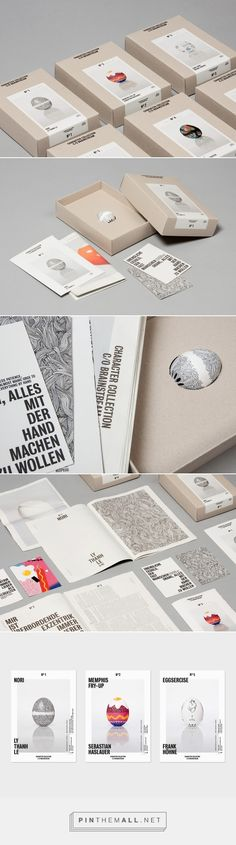 """BRAINSTREAM – CHARACTER COLLECTION /The """"Character Collection"""" is a special edition of the BeepEgg® (floating egg-timer), for which six illustrators were invited to create different artworks for the product./ by KLEIN – GABRIEL"""