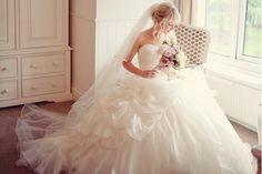 Dusky Pink Fairytale Wedding in An English Barn. Soft & romantic