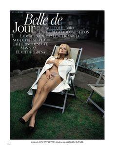 """""""Belle de Jour """"   Vogue Spain September 2012 : Vincent Peters"""