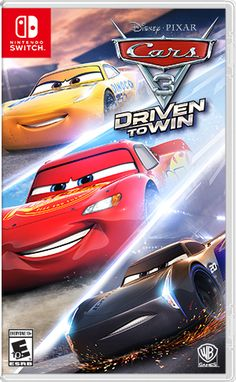 Learn more details about Cars 3: Driven to Win for Nintendo Switch and take a look at gameplay screenshots and videos.