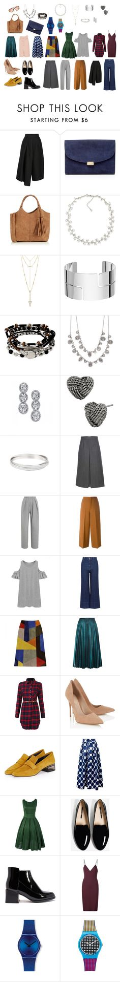 """""""For Demi Mur"""" by ellehaziahmetova on Polyvore featuring мода, TIBI, Mansur Gavriel, Oasis, Carolee, House of Harlow 1960, Dinh Van, Kenneth Cole, Givenchy и Harry Kotlar"""