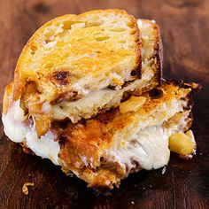 10 grilled cheese sandwiches you've gotta try: Cheryl's Grilled Cheese with Asian Pear via @myrecipes
