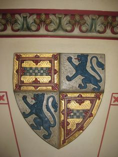 Coat of arms, Castell Coch
