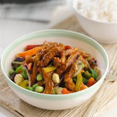 Buy quality groceries and wine from Waitrose & Partners. Over 6000 recipes and local store information. Chinese Pork, Pork Stir Fry, Clean Eating, Healthy Eating, Asian, Savoury Dishes, Fries, Yummy Food, Main Courses