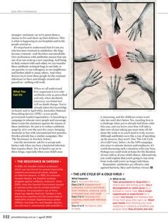 Australian Prevention Magazine é uma revista australiana de saúde destinada a mulheres com mais de 40 anos.    Blog:  No Miolo (http://nomiolo.blogspot.com.br/)    http://nomiolo.blogspot.com.br/2012/07/australian-prevention-magazine.html#