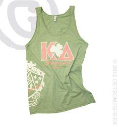Kappa Delta Shamrock LOVE