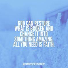 God restores dating relationships