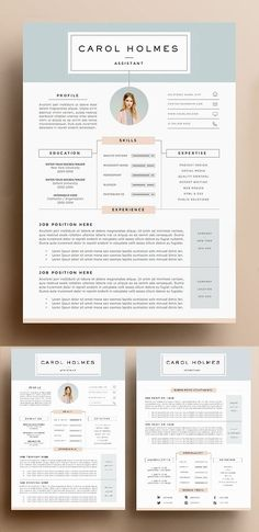 Resume / CV Template is a professional, Clean & modern resume template psd that will make you stand out from the crowd. Job Resume allows you to create your own Excel Design, Resume Design Template, Web Design, Creative Resume Design, Indesign Resume Template, Creative Cv Template, Layout Template, Design Art, Resume Layout