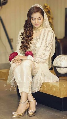 Seven Secrets About Nikah Dresses That Has Never Been Revealed For The Past 15 Years Nikkah Dress, Shadi Dresses, Pakistani Formal Dresses, Pakistani Wedding Outfits, Pakistani Dress Design, Pakistani Wedding Dresses, Bridal Outfits, Indian Dresses, Pakistani Suits